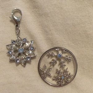 Origami Owl back plate and pendant
